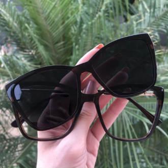 safine com br oculos 2 em 1 gatinho marrom ana