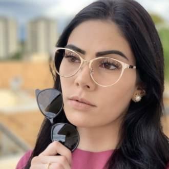 safine com br oculos 2 em 1 gatinho preto cleo 1