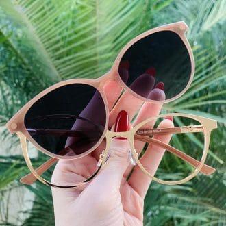 safine com br oculos 2 em 1 gatinho rosa cleo 5