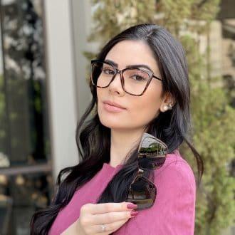 Óculos 2 em 1 Gatinho Tartaruga Ana