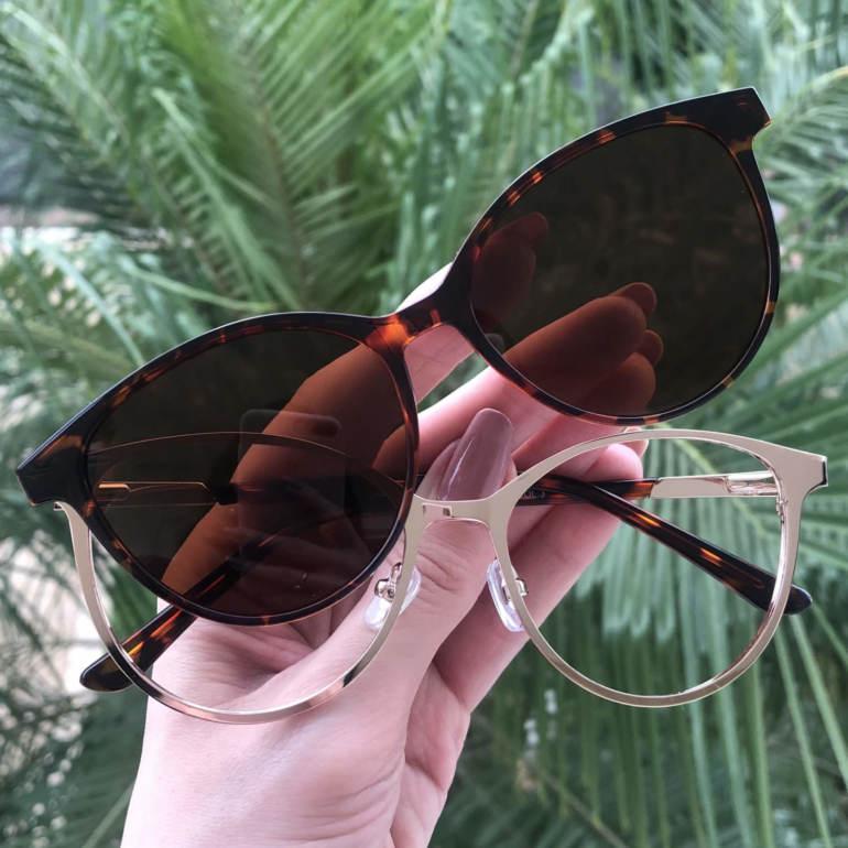 safine com br oculos 2 em 1 gatinho tartaruga cleo