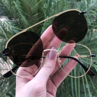 safine com br oculos 2 em 1 redondo preto louise copia