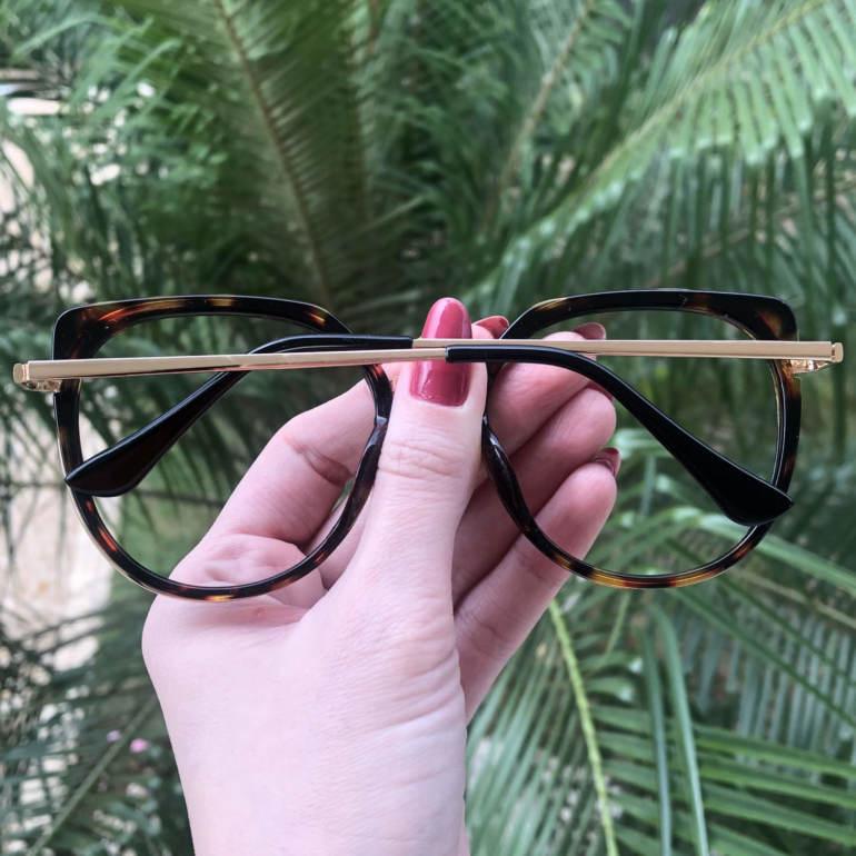 safine com br oculos de grau redondo tartaruga bea 2 0 3