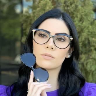 safine com br oculos 2 em 1 gatinho preto lia