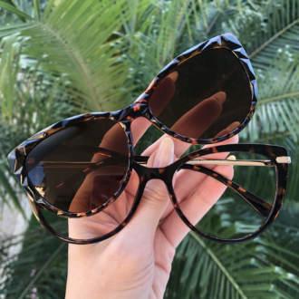 safine com br oculos 2 em 1 gatinho tartaruga lia 3