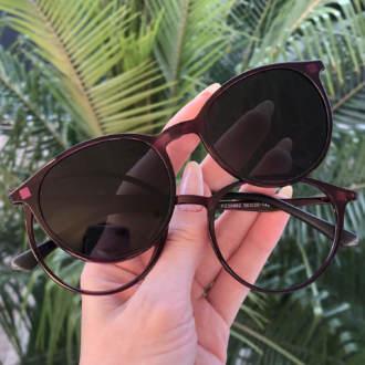 safine com br oculos 2 em 1 redondo roxo cloe 2