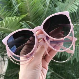 safine com br oculos 3 em 1 gatinho rosa zoe 6