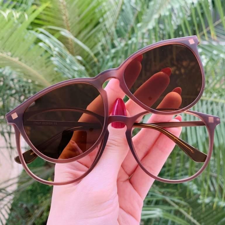 safine com br oculos 3 em 1 redondo marrom elis 3