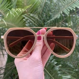 safine com br oculos de sol aviador nude nicole
