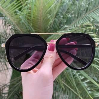 safine com br oculos de sol aviador preto nicole 3