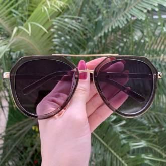 safine com br oculos de sol aviador transparente nicole