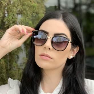 safine com br oculos de sol gatinho preto aline 1