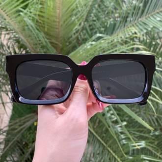safine com br oculos de sol retangular preto martina 3