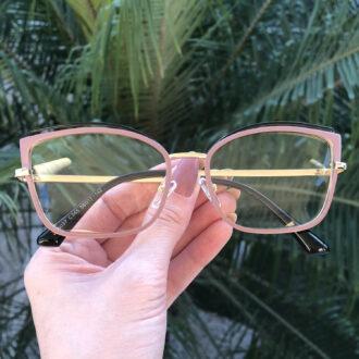 safine com br oculos de grau gatinho de metal lilas taisa 3