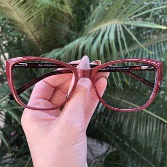 safine com br oculos de grau gatinho vinho dani 1