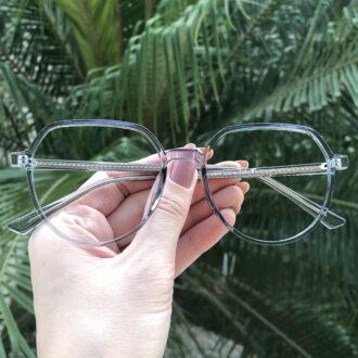 safine com br oculos de grau redondo azul mage 2 0 5