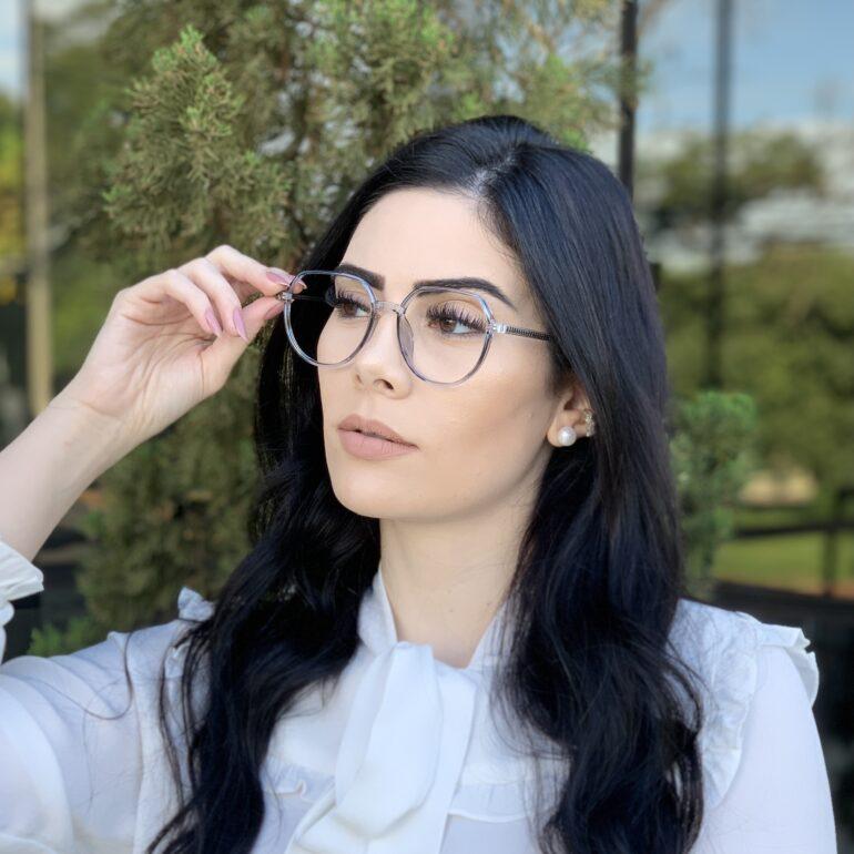 safine com br oculos de grau redondo azul mage 2 0 7