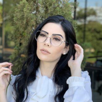 safine com br oculos de grau redondo azul mage 2 0 8