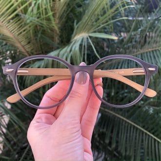 safine com br oculos de grau redondo cinza grazi