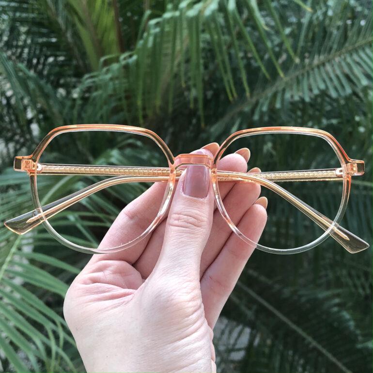 safine com br oculos de grau redondo laranja mage 2 0 8