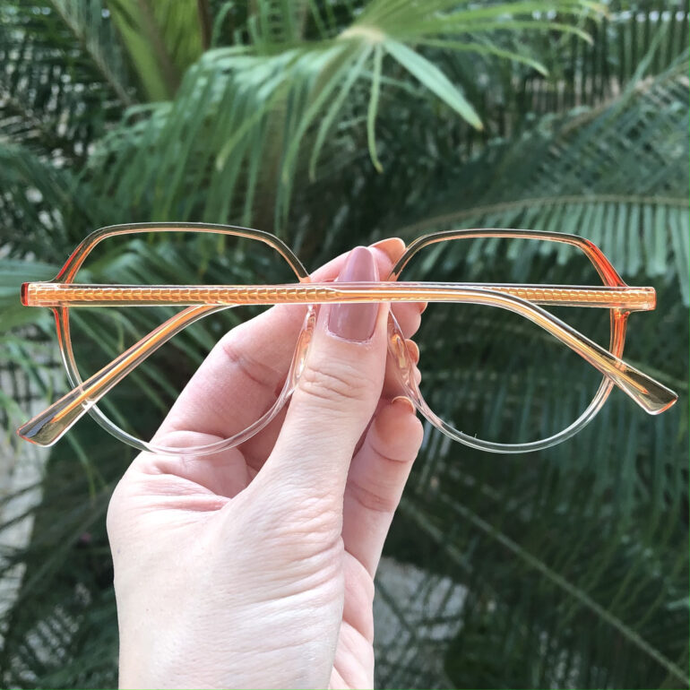 safine com br oculos de grau redondo laranja mage 2 0 9