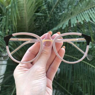safine com br oculos de grau redondo nude lina 7
