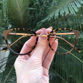 safine com br oculos de grau redondo tartaruga lina 5