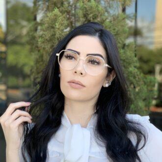 safine com br oculos de grau redondo transparente mage 2 0 7