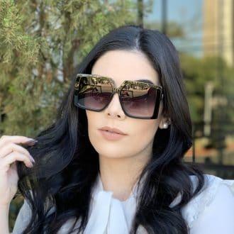 safine com br oculos de sol quadrado preto paty 2