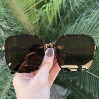 safine com br oculos de sol quadrado tartaruga elen