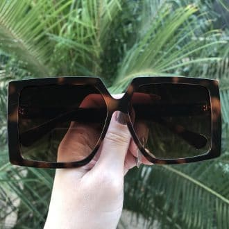 safine com br oculos de sol quadrado tartaruga paty