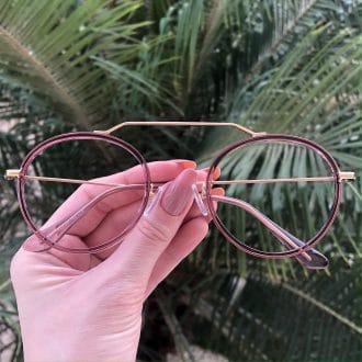 safine com br oculos de grau aviador redondo ivy rose