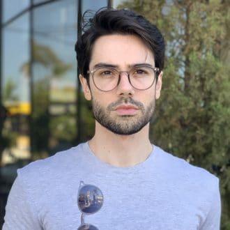 safine com br oculos 2 em 1 clip on masculino redondo cinza joao 2