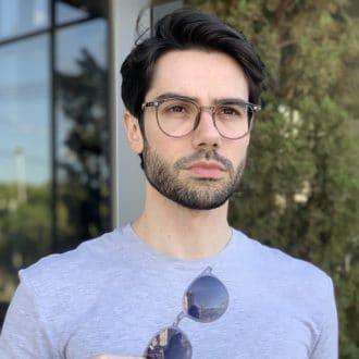 safine com br oculos 2 em 1 clip on masculino redondo cinza joao 3