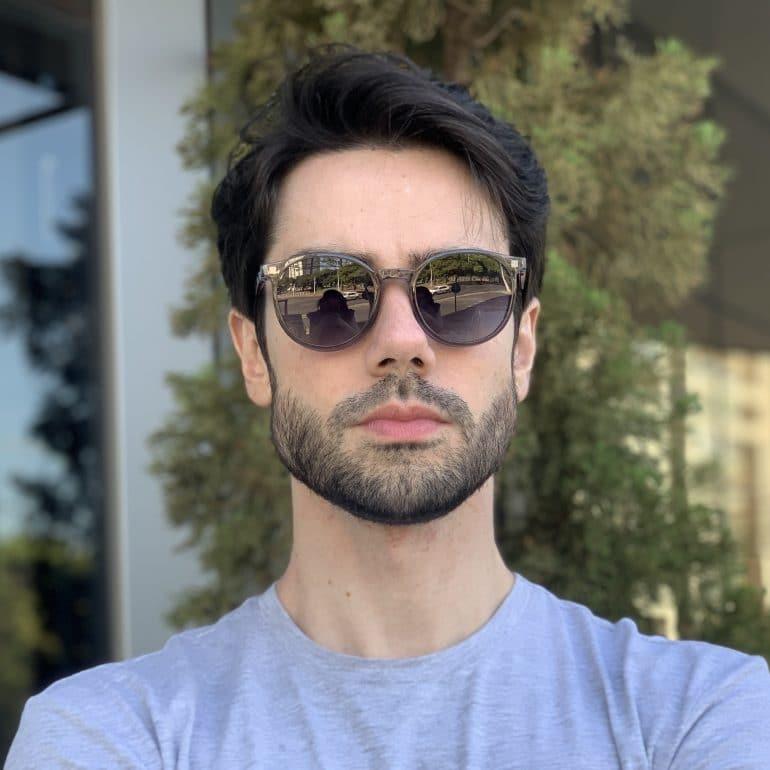 safine com br oculos 2 em 1 clip on masculino redondo cinza joao