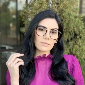 safine com br oculos de grau redondo preto helo 4