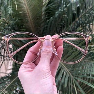 safine com br oculos de grau redondo rose helo