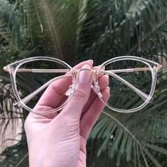 safine com br oculos de grau redondo transparente helo