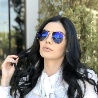 safine com br oculos de sol aviador espelhado isa 2