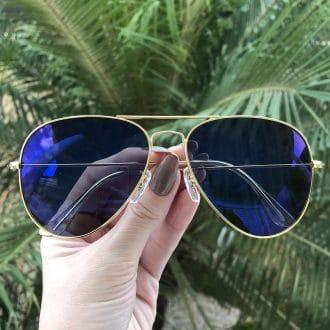 safine com br oculos de sol aviador espelhado isa
