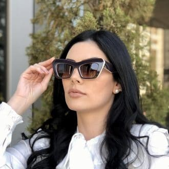 safine com br oculos de sol gatinho marrom com nude jade 1