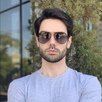 safine com br oculos de sol masculino aviador preto igor 1