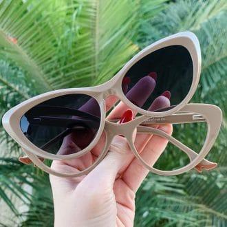 safine com br oculos 2 em 1 clip on gatinho nude heloa