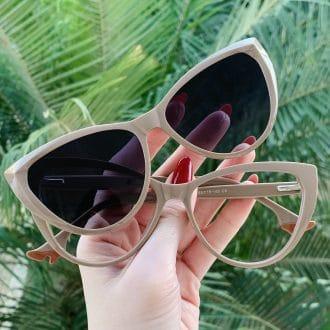 safine com br oculos 2 em 1 clip on gatinho nude may