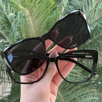 safine com br oculos 2 em 1 clip on gatinho preto luma