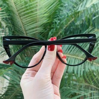 safine com br oculos 2 em 1 clip on gatinho preto may 2