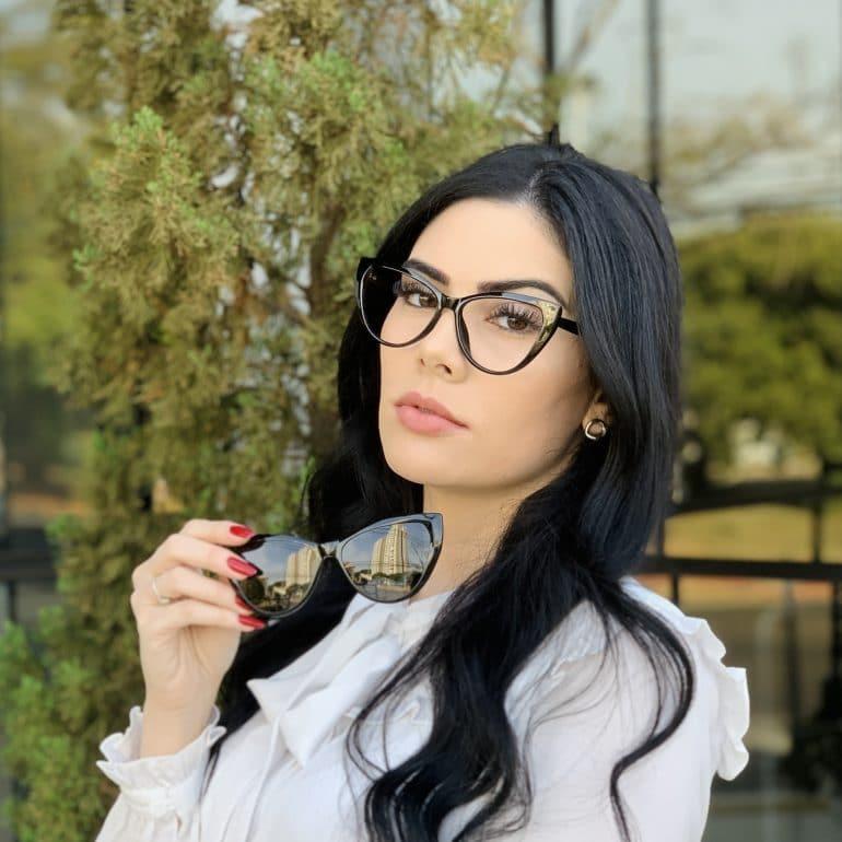 safine com br oculos 2 em 1 clip on gatinho preto may 5