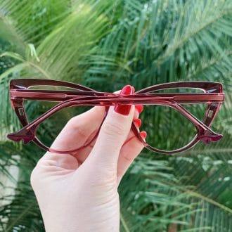 safine com br oculos 2 em 1 clip on gatinho rosa may 2