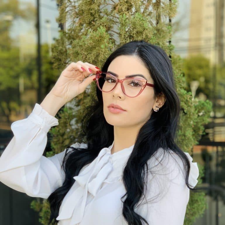 safine com br oculos 2 em 1 clip on gatinho rosa may 3