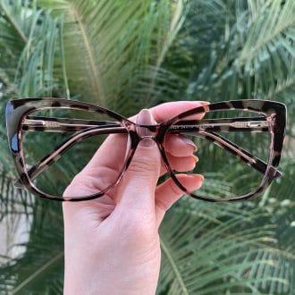 safine com br oculos 2 em 1 clip on gatinho tartaruga com rosa luma 1